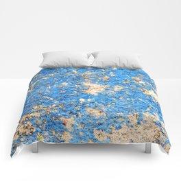 Textures in Blue Comforters