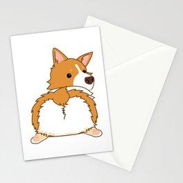 Corgi Butt Stationery Cards