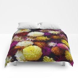 Pop Color Flowers (Color) Comforters