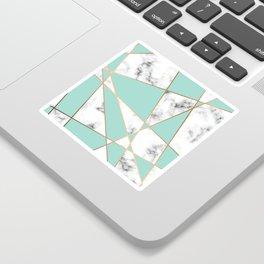 Marble Geometry 055 Sticker