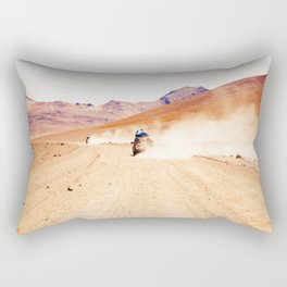 Road Racing Desert (Color) Rectangular Pillow