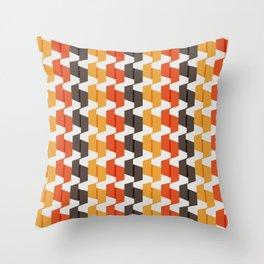 70s Paper Folds Medium Throw Pillow