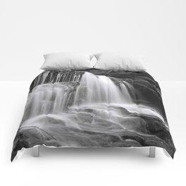 Waterfall in Catskills Comforters