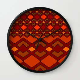 Autum Dayz Wall Clock
