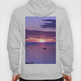 Colorful Cloudy Sunset  Hoody