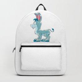 Donkey Cartoon Backpack