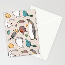 Lump Birds Stationery Cards