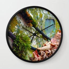 Shroud of Moss - Sailboat Series #2 Wall Clock