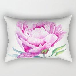 Fresh peony Rectangular Pillow