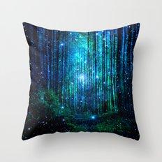 magical path Throw Pillow