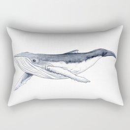 Baby humpback whale (Megaptera novaeangliae) Rectangular Pillow