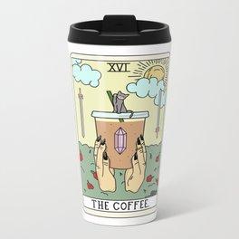 COFFEE READING Metal Travel Mug