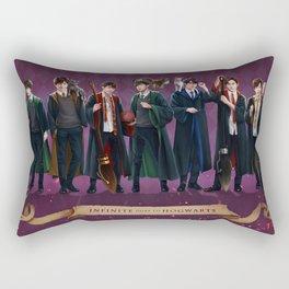 Infinite goes to Hogwarts Rectangular Pillow