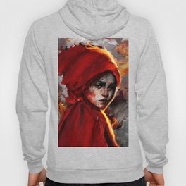 red one Hoody