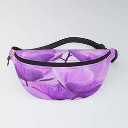 Violet Anemones Spring Atmosphere #decor #society6 #buyart Fanny Pack