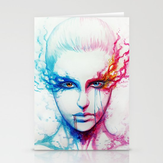 """""""Bipolarity"""" Stationery Cards"""