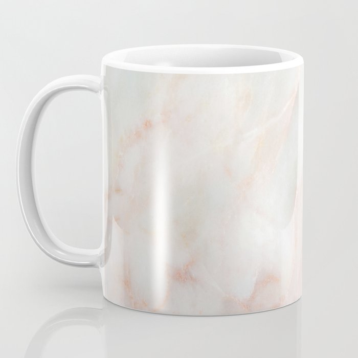 Softest blush pink marble Coffee Mug