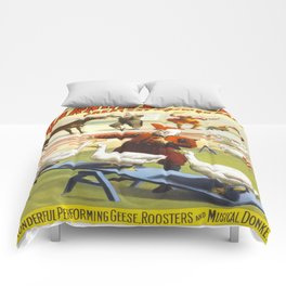 Vintage poster - Circus Comforters