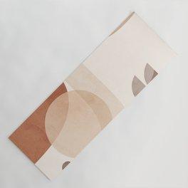 Abstract Minimal Shapes 16 Yoga Mat