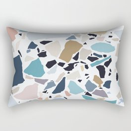 Pastel Terrazzo Rectangular Pillow