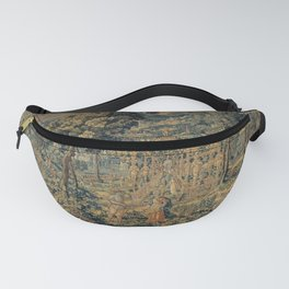Brussels Manufactory - Vertumnus and Pomona (1570 - 1600) Fanny Pack