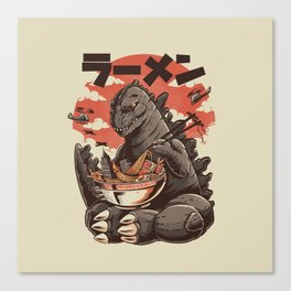 Kaiju's Ramen Canvas Print