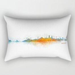 Istanbul City Skyline Hq v3 Rectangular Pillow