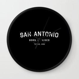 San Antonio - TX, USA (Arc) Wall Clock