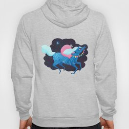 Death on a horse fairy tale illustration Hoody