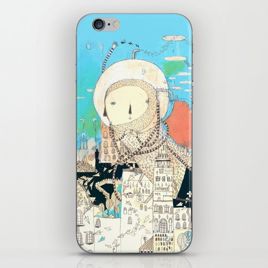 Logic will get you from A to B. Imagination will take you everywhere. iPhone & iPod Skin