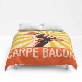 Carpe Bacon Comforters