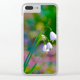 Spring Impression 2 Clear iPhone Case