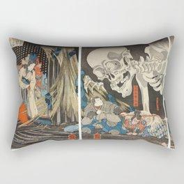 Takiyasha the Witch and the Skeleton Spectre Rectangular Pillow