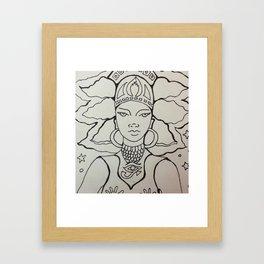 Power on the Nile Framed Art Print