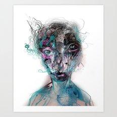 grotesque/3 Art Print