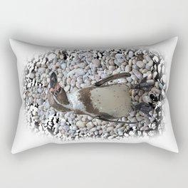 Humboldt penguin portrait Rectangular Pillow