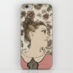 Vintage Girl iPhone & iPod Skin