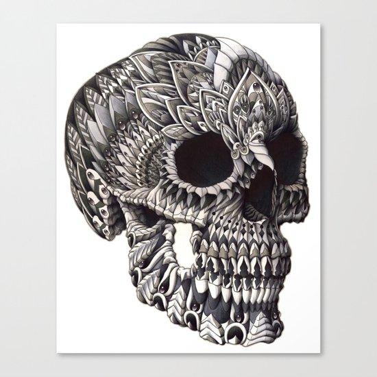 Ornate Skull Canvas Print