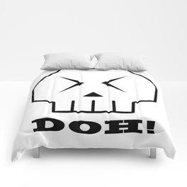 Doh! Skull Comforters