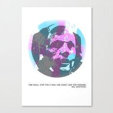 The Moonwalker Canvas Print
