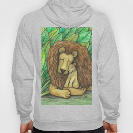 Lion and Cub Hoody