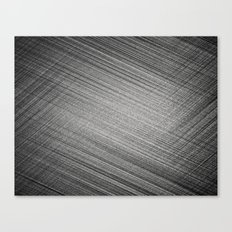 Charcoal Stitch Canvas Print