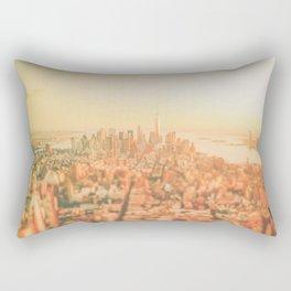 New York City Sunset Rectangular Pillow