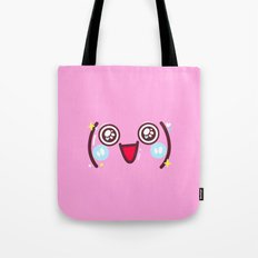 Cute and happy Tote Bag