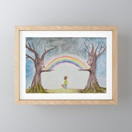 Guardians Framed Mini Art Print