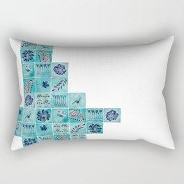 A Tile of Two Cities Rectangular Pillow