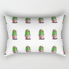Cute Cactus Rectangular Pillow