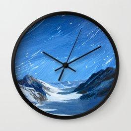 Jung Frau Wall Clock