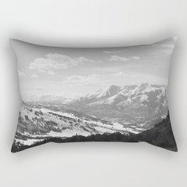 Uintah Mountains Rectangular Pillow
