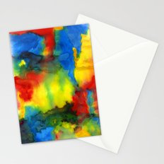 Primary Mix Stationery Cards